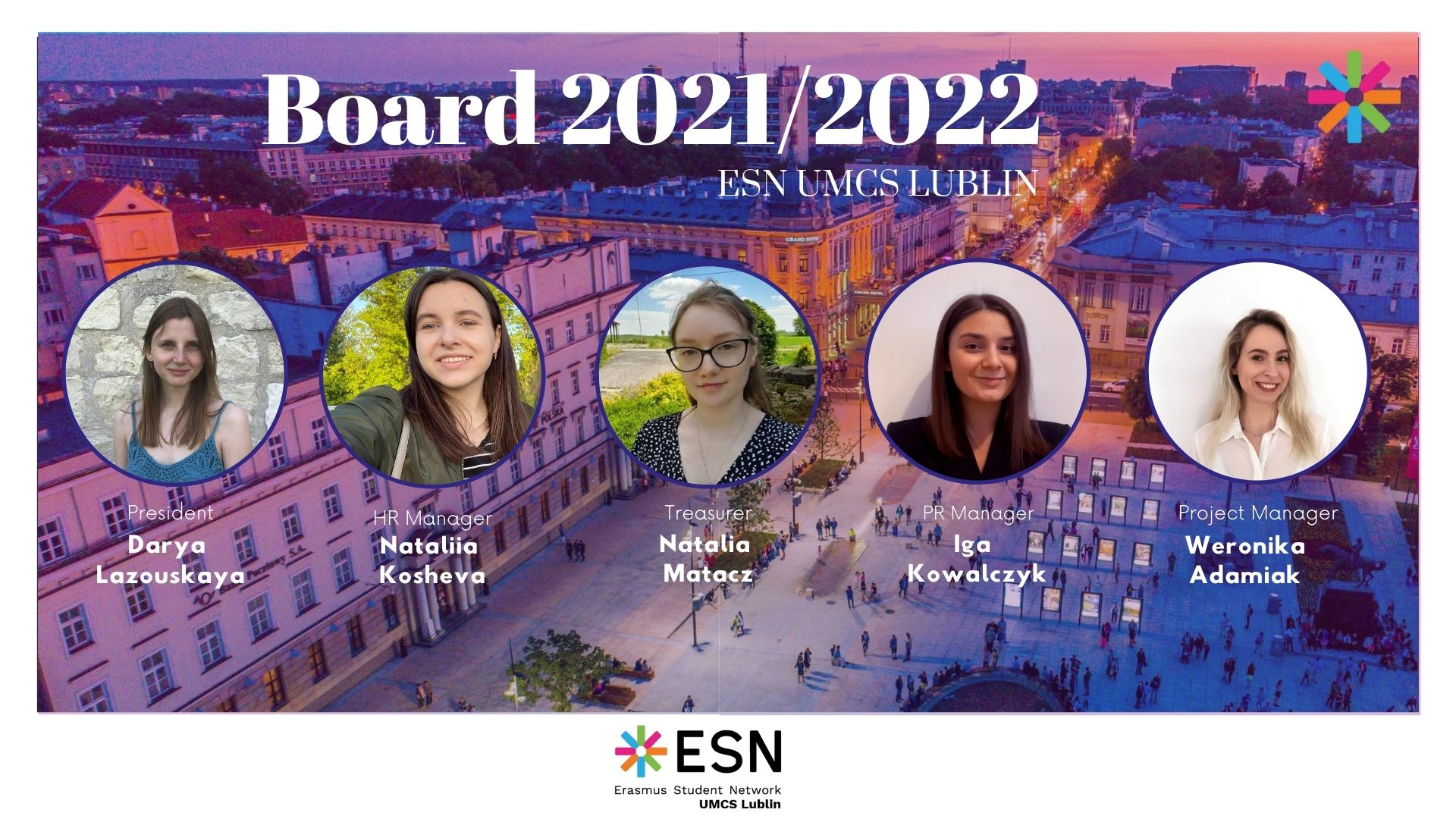 Our new board 2021/2022