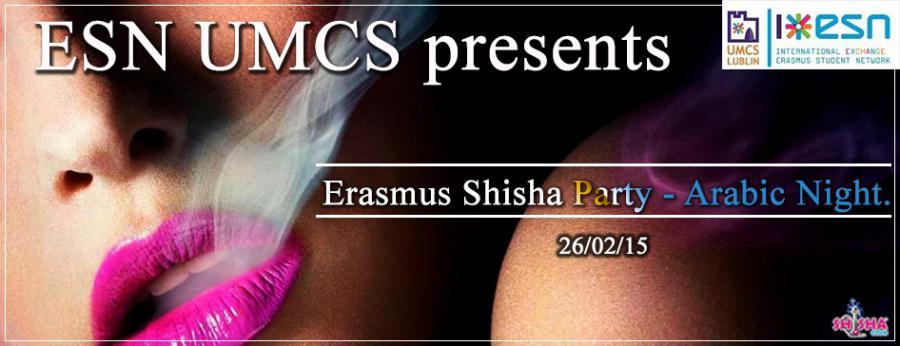 Erasmus Shisha Party – Arabic Night | ESN UMCS Lublin